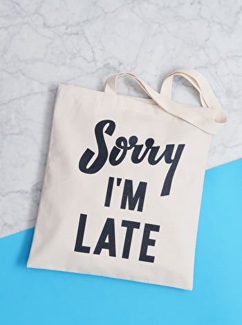 Photo of Sorry I'm Late