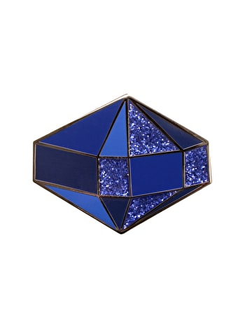 Photo of Sapphire / September - Enamel Pin