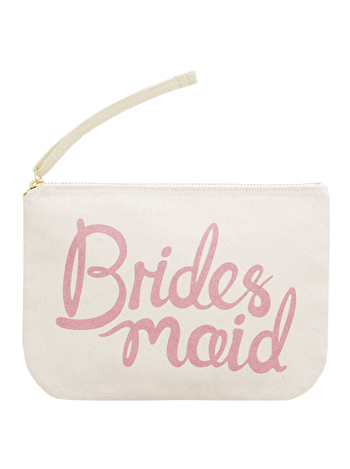 Bridesmaid Pouch | Bridesmaid Gifts | Alphabet Bags