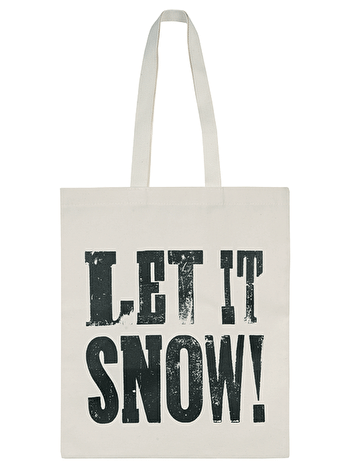 Let it Snow! - Cotton Tote Bag