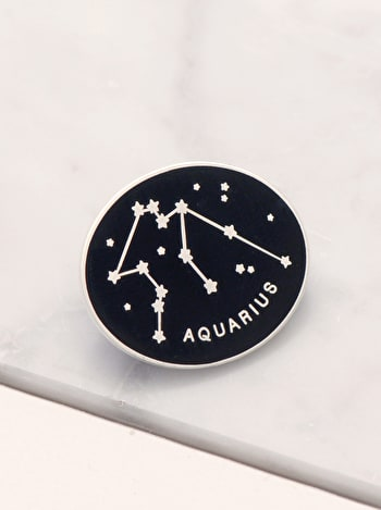 Aquarius - Enamel Pin