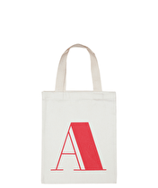 Initial Cotton Tote Bag - Mini