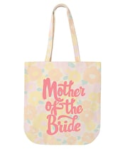 Mother of the Bride - Floral Canvas Bag