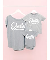 Exhausted/Exhausting Set  - Mum & Baby/Toddler