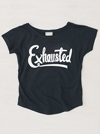 Photo of Exhausted - Womens T-Shirt