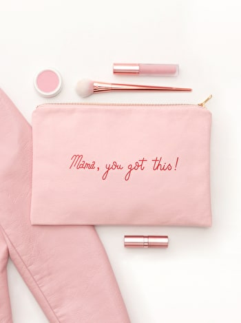 Photo of Mama, You Got This! - Blush Pink Pouch