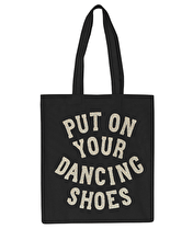 Put On Your Dancing Shoes Glitter - Cotton Tote Bag
