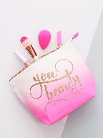 You Beauty Makeup Bag | Makeup Bags | Alphabet Bags