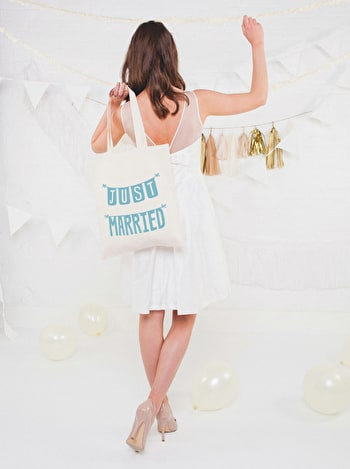 Photo of Just Married - Teal