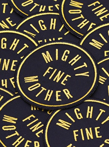 Photo of Mighty Fine Mother - Embroidered Patch