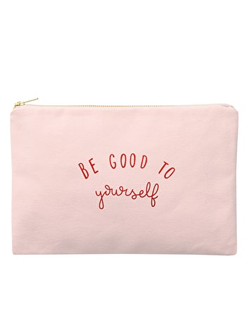 Be Good To Yourself - Blush Pink Pouch