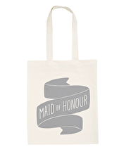Maid of Honour Grey - Wedding Tote Bag