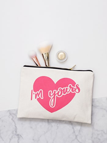 Photo of I'm Yours - Large Canvas Pouch