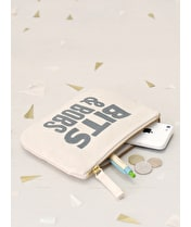 Bits & Bobs - Little Canvas Pouch