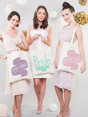 Photo of Maid of Honour Mint - Wedding Tote Bag