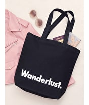 Wanderlust - Canvas Tote Bag