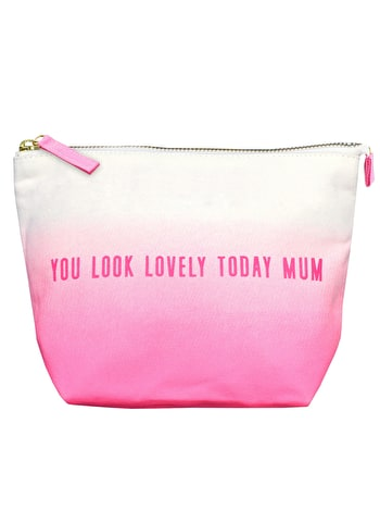 You Look Lovely Today Mum Ombre - Makeup Bag - Second