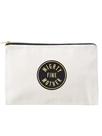 Mighty Fine Mother - Large Canvas Pouch