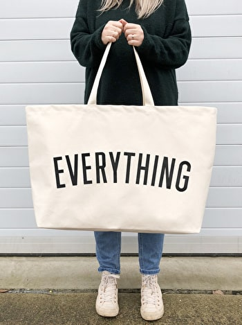 Everything - REALLY Big Bag