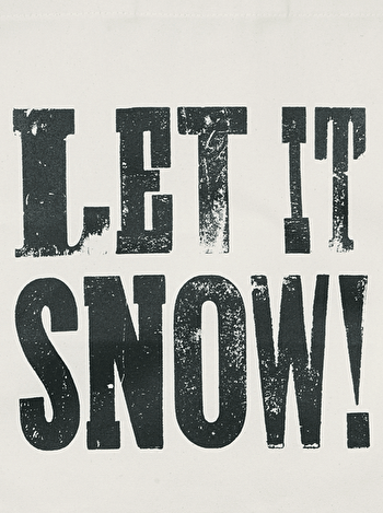 Photo of Let it Snow! - Cotton Tote Bag