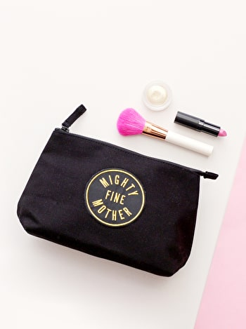 Photo of Mighty Fine Mother Black - Makeup Bag