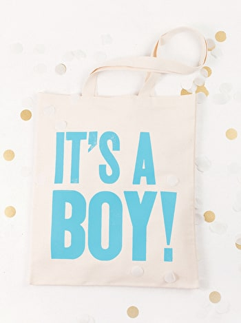 Photo of It's a Boy! - Cotton Tote Bag