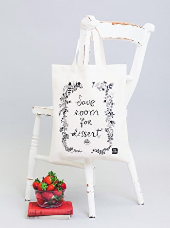 Photo of Save Room for Dessert - Dinara Mirtalipova for Alphabet Bags