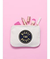 Mighty Fine Mother - Little Canvas Pouch
