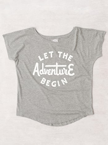 Let the Adventure Begin - Womens T-Shirt