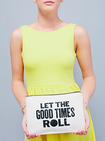 Photo of Good Times - Large Canvas Pouch