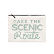 Take the Scenic Route - Extra Large Travel Pouch