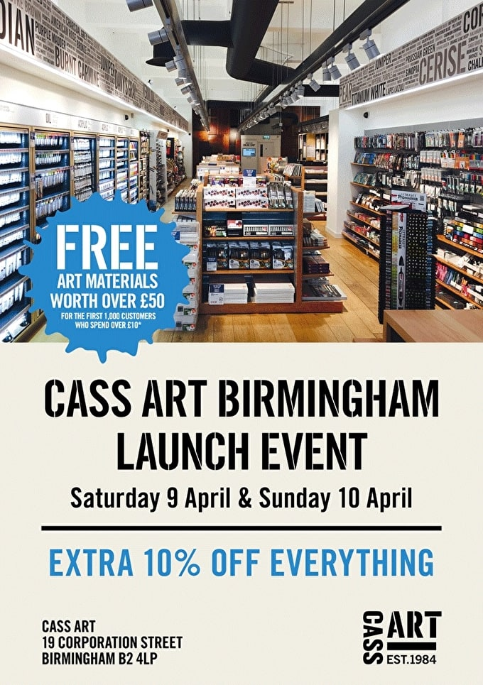 Birmingham Launch Event | 9th & 10th April 2016
