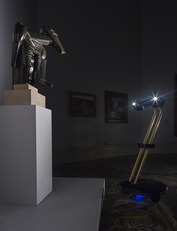 Robots Roam After Dark At Tate Britain