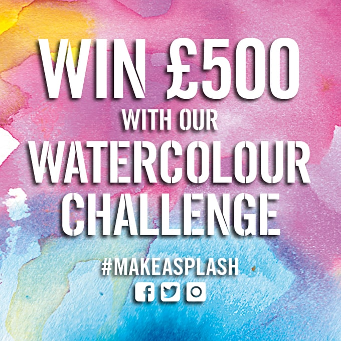 Watercolour Challenge 2017: #MakeASplash & Win £500