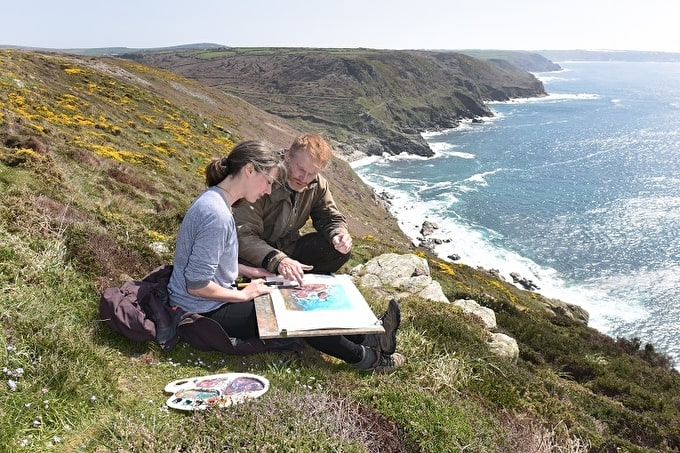 WIN A TURNER INSPIRED PAINTING BREAK IN CORNWALL