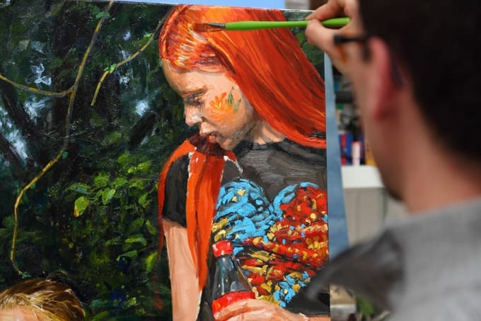 Step by Step Oil Painting with Michele del Campo