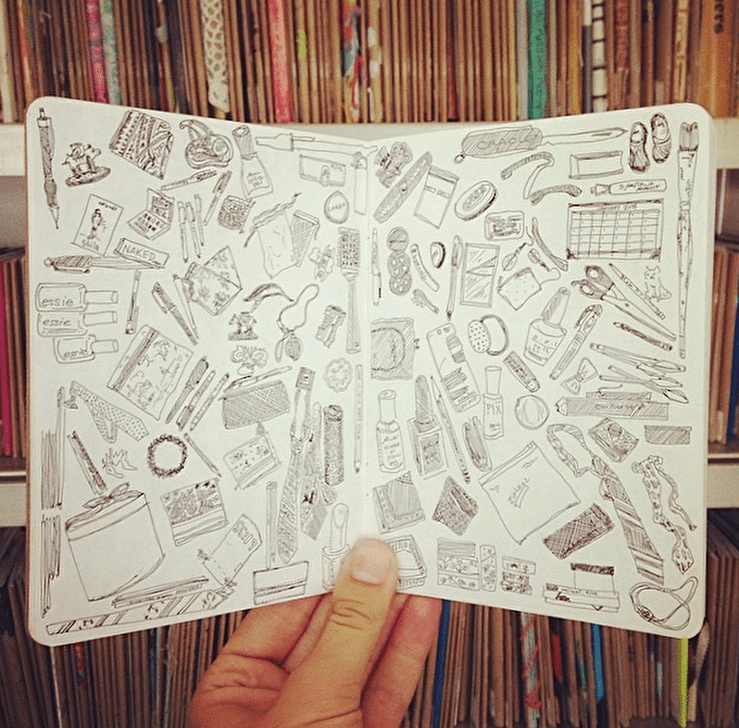How To: Start A Sketchbook This Summer