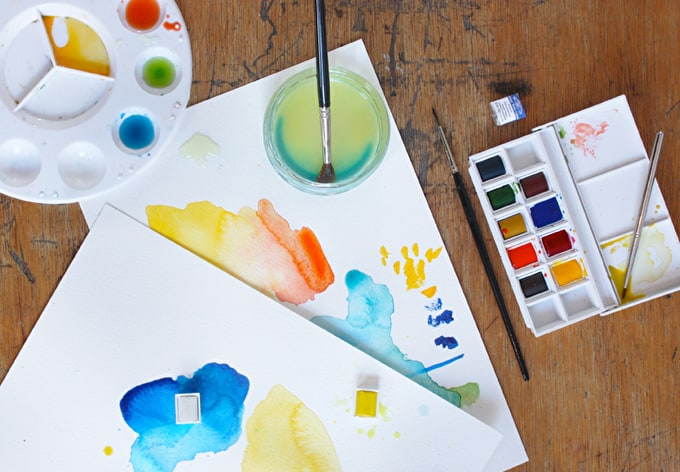 How To START Watercolour Painting: 6 Top Tips