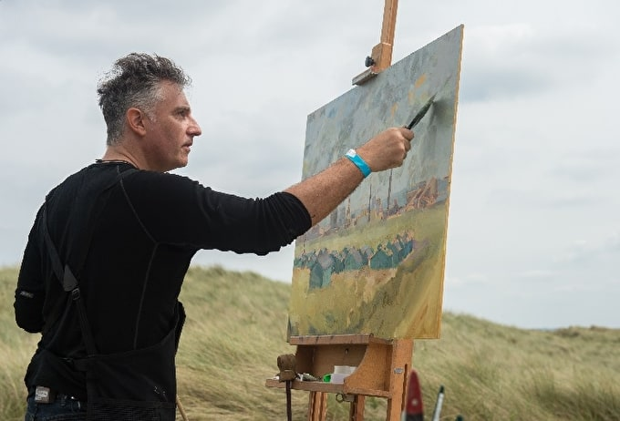 Jonathan Hargreaves Wins Heat 2 of Sky Arts Landscape Artist of the Year 2017
