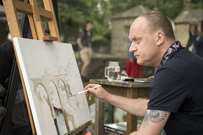 John Ball Wins Heat 4 of Sky Arts Landscape Artist of the Year 2017