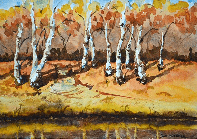 Artist Denise Mitchell Shares Her Watercolour Inspiration Beyond The Make A Splash Challenge