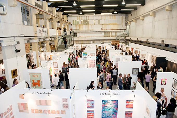 The Other Art Fair is back at Ambika P3