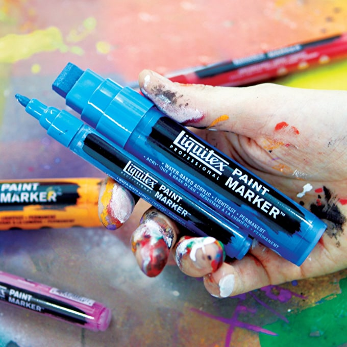 How To: Liquitex Paint Markers