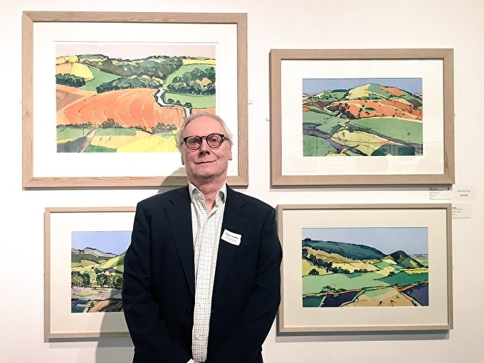 ARTIST INTERVIEW: NIGEL PRIDDEY WINS OUR PRIZE FOR WATERCOLOUR