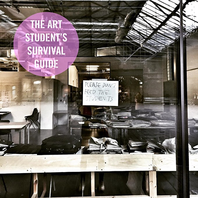 The Art Student's Survival Guide to: Open Days