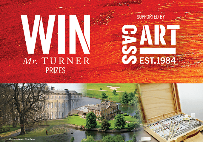 Win Fantastic Prizes With Our Mr. Turner Prize Draw