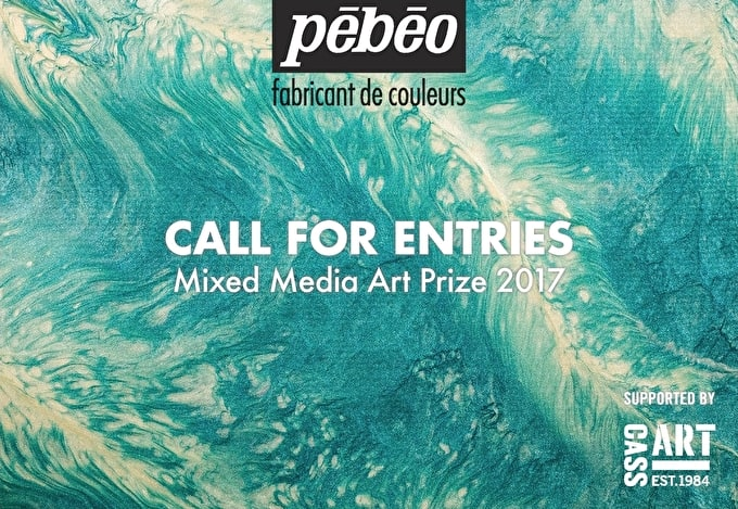 Call For Entries: Pebeo Mixed Media Art Prize 2017