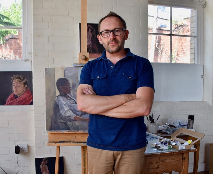 ARTIST INTERVIEW: GREG MASON, PROFESSIONAL OIL PAINTING AMBASSADOR FOR CASS ART