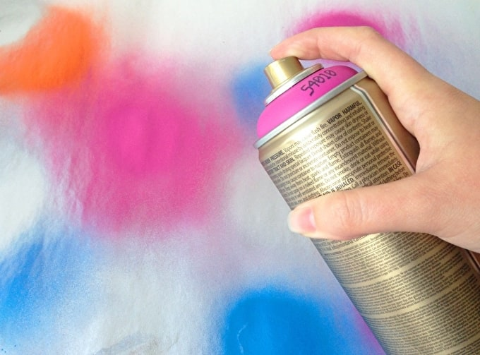 How To: Montana Gold Spray Paint