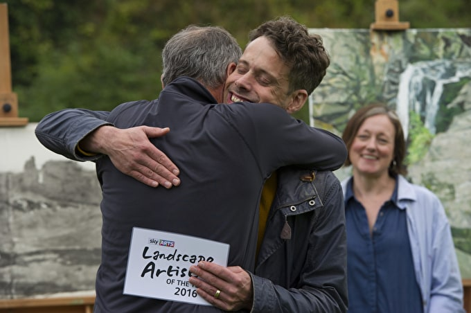 Richard Allen is Sky Arts Landscape Artist of the Year 2016